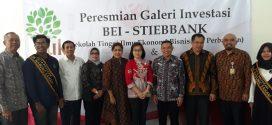 Peresmian Galeri Investasi BEI di Kampus STIEBBANK Yogyakarta