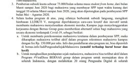 Surat Edaran Tanggap Bencana Covid-19